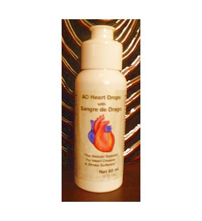 AO Heart Drops with Sangre de Drago  60ml (2fl.oz--80doses)