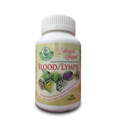 Botanical Support - Blood/Lymphoma - 120 Capsules x 500mg