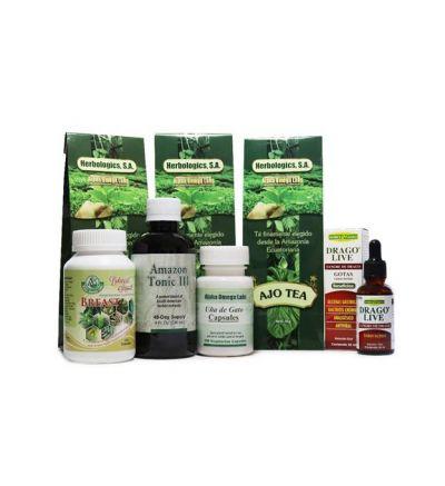Botanical Support Bundle - Breast #1[ Estrogen / Progesterone Negative ]