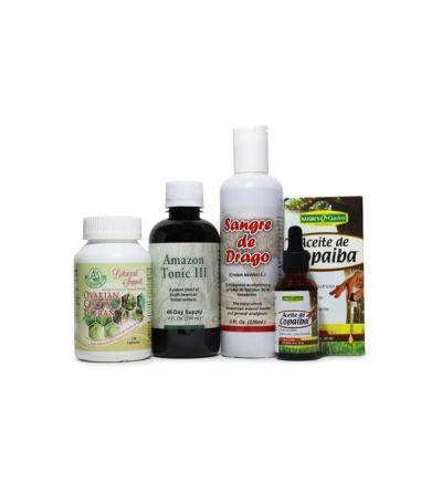 Botanical Support Bundle - Ovarian / Cervical / Uteran