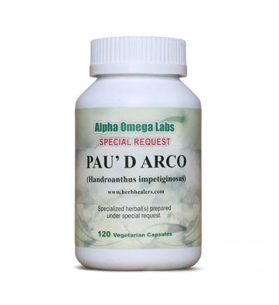 Pau d'Arco Lapacho/Taheebo - 120 Capsules x 500mg