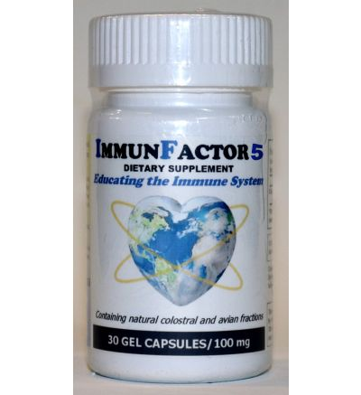 ImmunFactor 5 (30 Caps x 100 mg.)