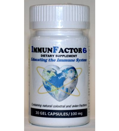 ImmunFactor 6 (30 Caps x 100 mg.)