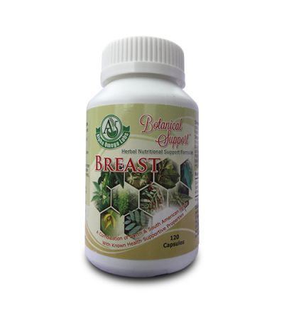 Botanical Support - Breast - 120 Capsules x 500mg