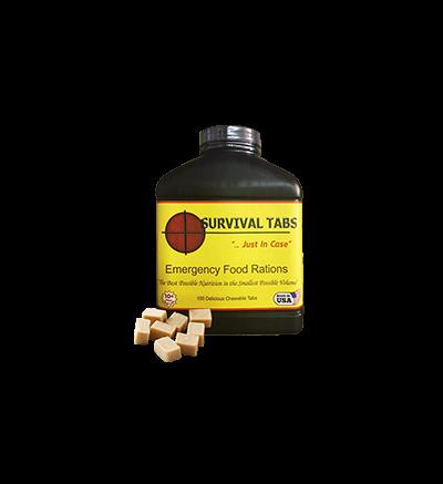 Survival Tabs-Butterscotch