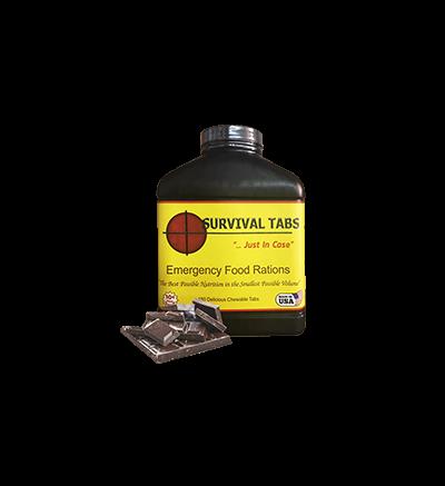 Survival Tabs-Chocolate