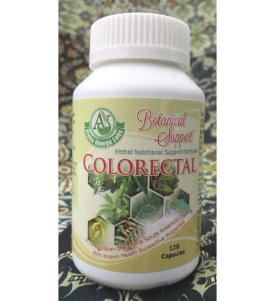 Botanical Support - Colorectal - 120 Capsules x 500mg