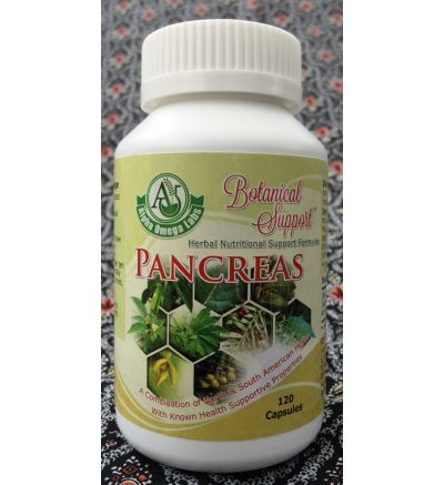 Botanical Support - Pancreatic - 120 Capsules x 500mg