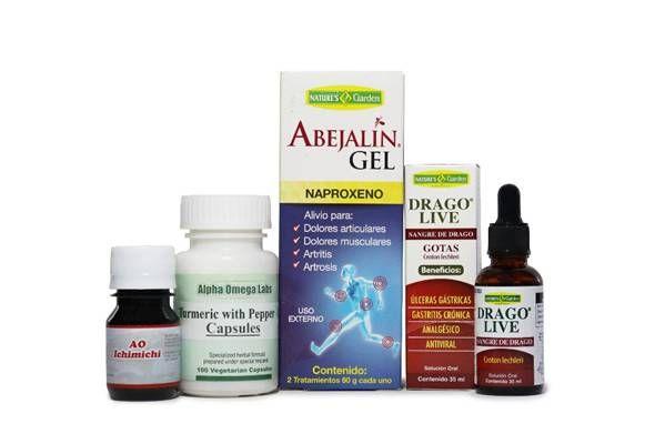 Anti-inflammation Bundle – Turmeric & Pepper, Sangre de Drago (22